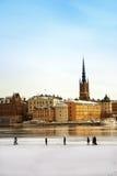 город stockholm Стоковое Изображение RF
