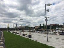 Город Szczecin стоковое изображение rf