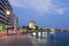 Город Thessaloniki, Греция Стоковое фото RF