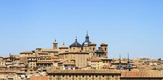 Город Toledo архитектурноакустический исторический крыши Испания Стоковые Изображения RF