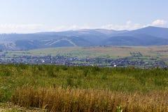 Город Toplita Стоковая Фотография