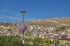 Город Veles в македонии стоковые изображения