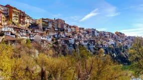 Город Veliko Tarnovo, Болгария, старый город Стоковые Изображения