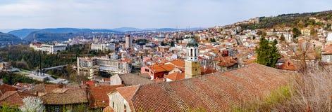 Город Veliko Tarnovo, Болгария, старый город Стоковая Фотография