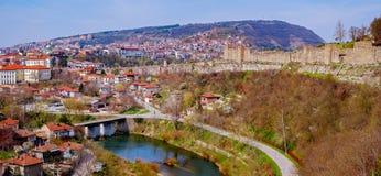 Город Veliko Tarnovo, Болгария Стоковые Фотографии RF
