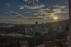 Город Veliko Tarnovo стоковая фотография rf