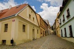 Город Znojmo, чехия европа стоковое фото