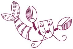 Гороскоп потехи - знак зодиака Карциномы стоковые фотографии rf
