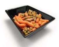 горохи моркови Стоковая Фотография