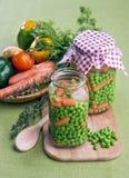 Горохи с морковами Стоковая Фотография RF