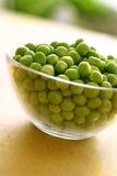 горохи шара свежие стеклянные зеленые Стоковое Фото