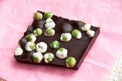 Расшива шоколада гороха Wasabi Стоковые Фотографии RF