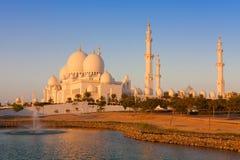 Город Абу-Даби, ОАЭ Стоковые Фотографии RF