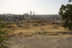 Город Аммана Стоковое Фото