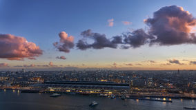 Город Амстердама Стоковые Фото