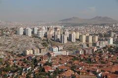 Город Анкары в Турции Стоковое Изображение