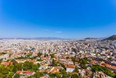 Город Афин стоковые изображения