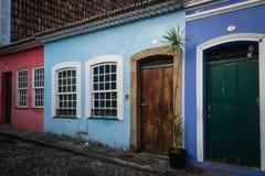 Города Бразилии - Сальвадора, Бахи Стоковые Фотографии RF