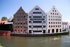 города danzig известный gdansk Польша Стоковое Изображение