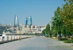Город Баку стоковые фото
