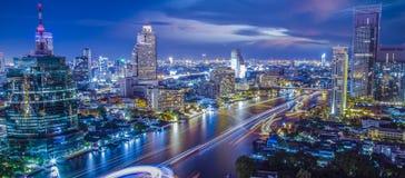 Город Бангкока стоковые изображения rf