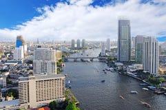 Город Бангкока стоковое изображение