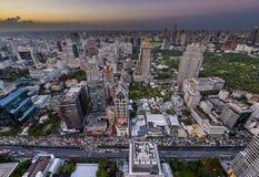 Город Бангкок Стоковое Изображение