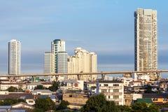 Город Бангкок стоковое фото rf