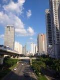 Город Бангкок bluesky Стоковые Фотографии RF