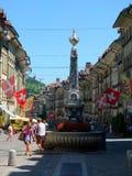 Город Берна, Швейцарии Стоковое Фото