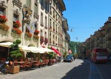 Город Берна, Швейцарии Стоковые Фото