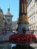 Город Берна, Швейцарии Стоковая Фотография RF