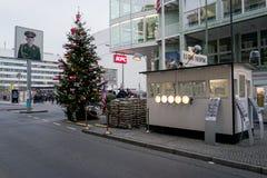 Город Берлина - контрольно-пропускной пункт Чарли Стоковые Изображения RF