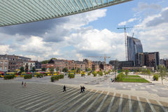 Город Бельгия Liege Стоковые Изображения RF