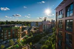 Город Бирмингема, Великобритания Стоковая Фотография