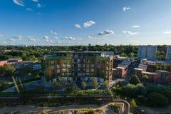 Город Бирмингема, Великобритания Стоковая Фотография RF