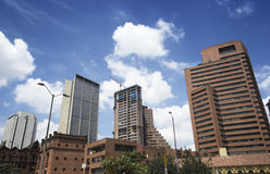 Город Боготы под конструкцией Стоковое фото RF