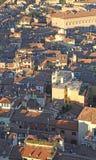 Город болонья от башни Италии ASINELLI Стоковое фото RF