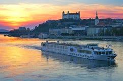Город Братиславы, Словакия, восточная Европа Стоковое Изображение
