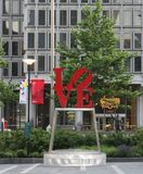 Город братской любови Филадельфии Стоковая Фотография RF