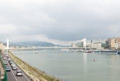 Город Будапешта стоковая фотография rf