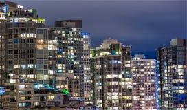 Город Ванкувера Стоковые Изображения