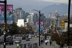 Город Ванкувера Стоковое Изображение RF
