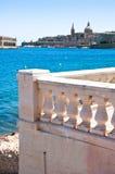 Город Валлетты Мальты исторический Стоковое Изображение