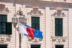 Город Валлетты Мальты исторический Стоковая Фотография RF