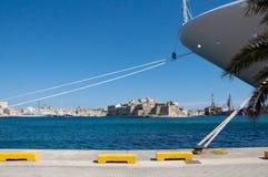 Город Валлетты Мальты исторический Стоковое фото RF