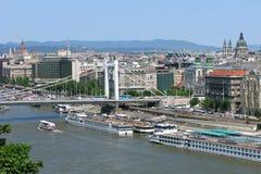 город Венгрия budapest Стоковые Изображения RF