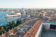 Город Венеции от колокольни ` s StMark Стоковые Изображения