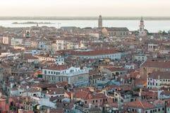 Город Венеции от колокольни ` s StMark Стоковая Фотография