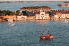 Город Венеции от колокольни ` s StMark Стоковые Фото